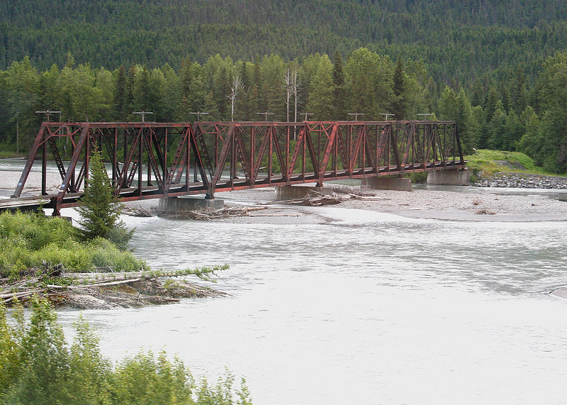 Bridge over Snow River