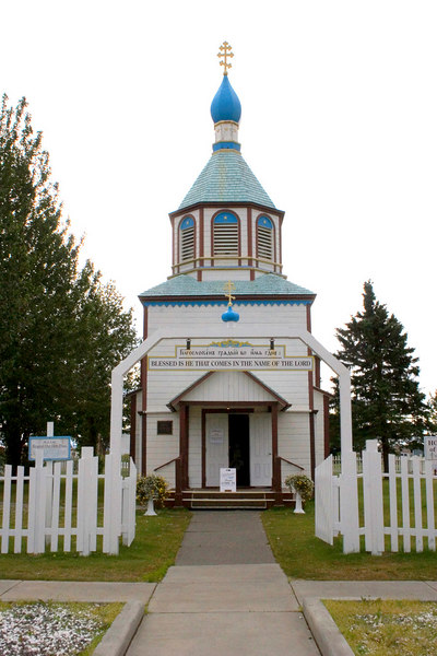 The Holy Assumption of the Virgin Mary Russian Orthodox Church in Kenai, AK