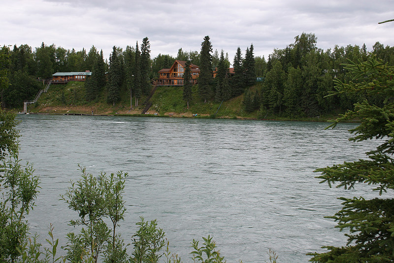 Kenai River from Centennial Campground, Soldotna, AK