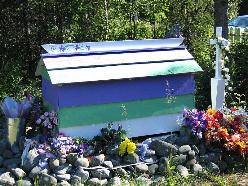 Athabascan spirit house