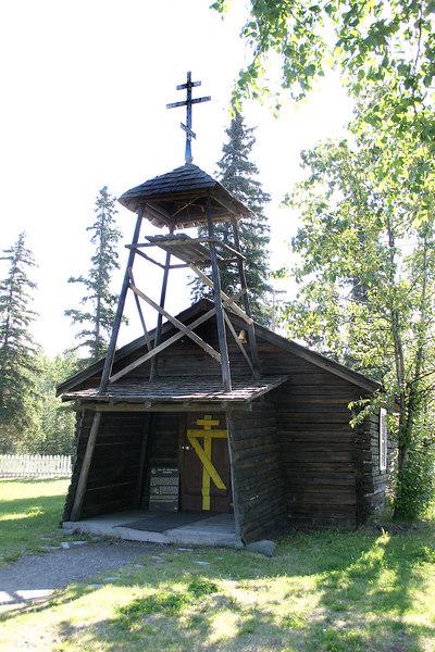 Old St. Nicholas Russian Orthodox Church built in 1870