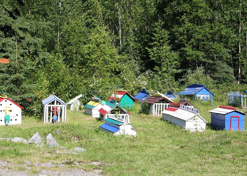 Athabascan spirit houses