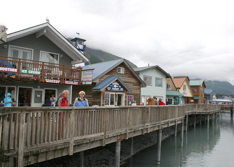 Wharf at Seward Harbor