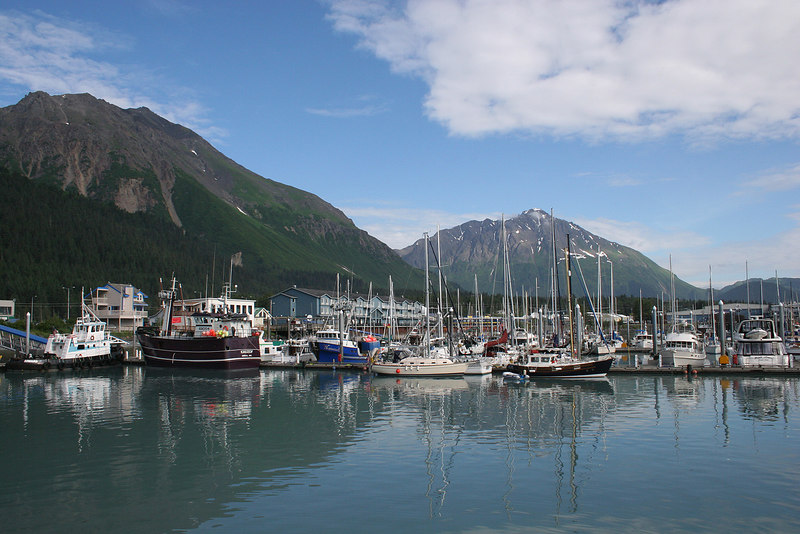 Seward Harbor as we are leaving