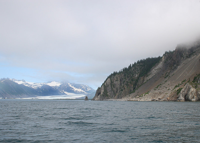 Calisto Head and Bear Glacier to the left