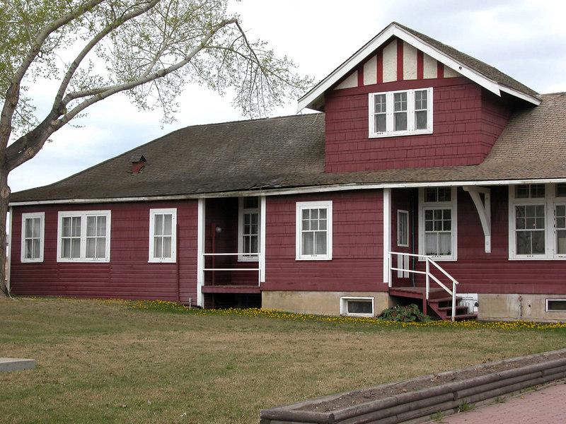 5/10/06 - Restored Northern Alberta Railways station