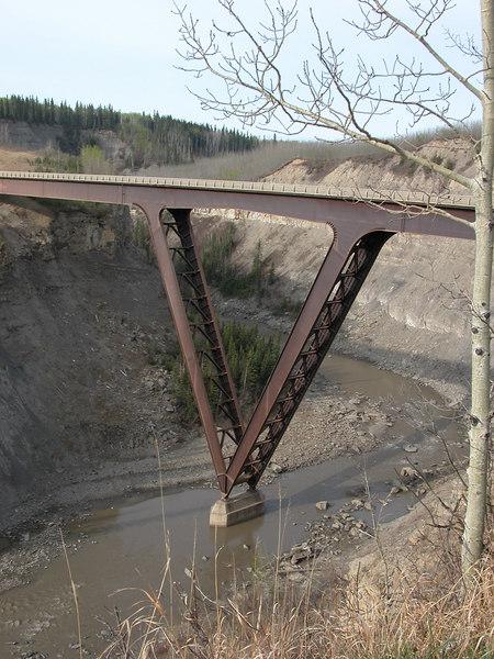5/11/06 - The new Kiskatinaw Bridge