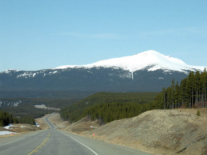 About 5 miles west of the Continental Divide.
