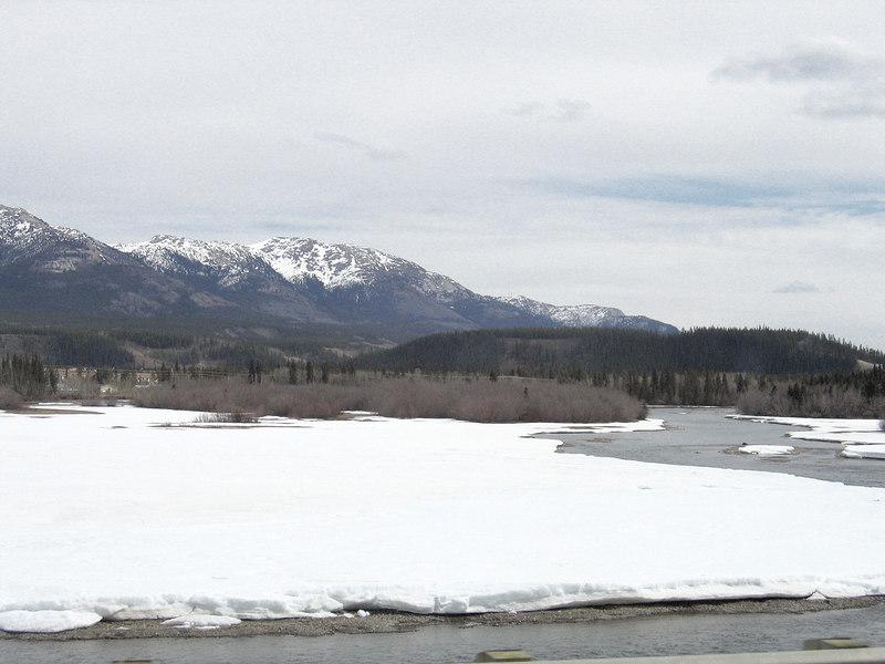 5/16/06 - Yukon River as we are heading into Whitehorse