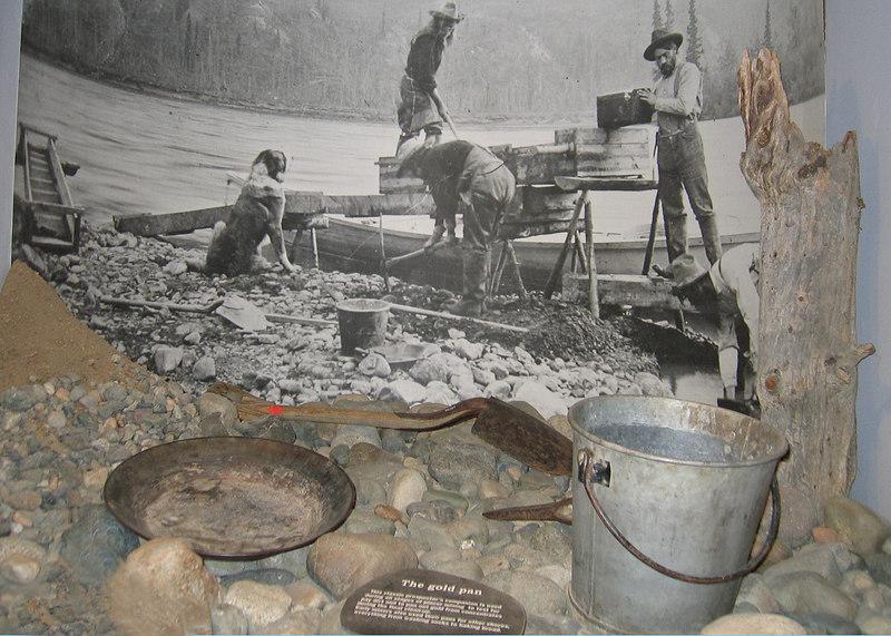 5/18/06 - McBride Museum; gold mining exhibit