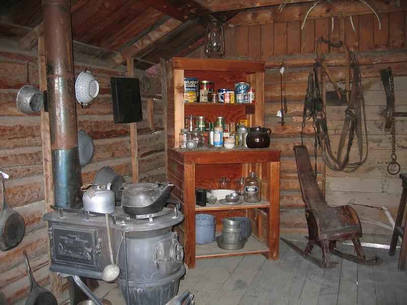 5/18/06 - McBride Museum; inside Sam McGee's house
