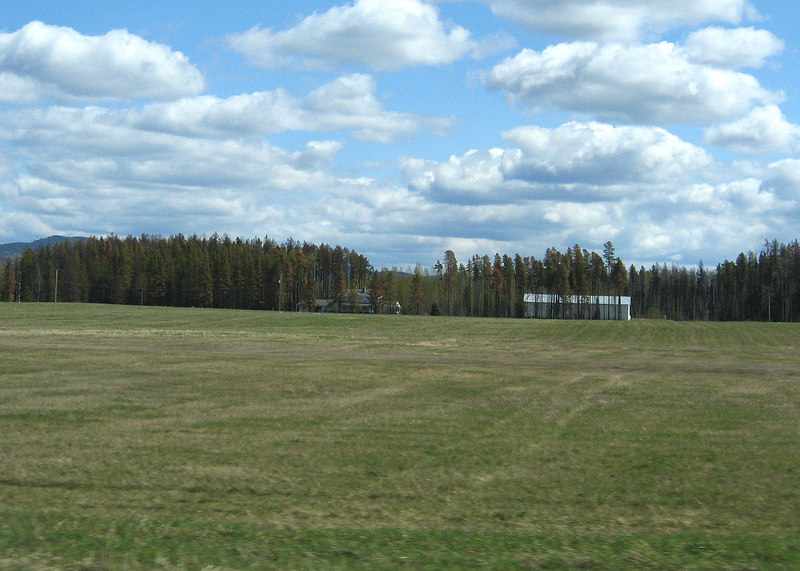 About 10 miles south of Prince George