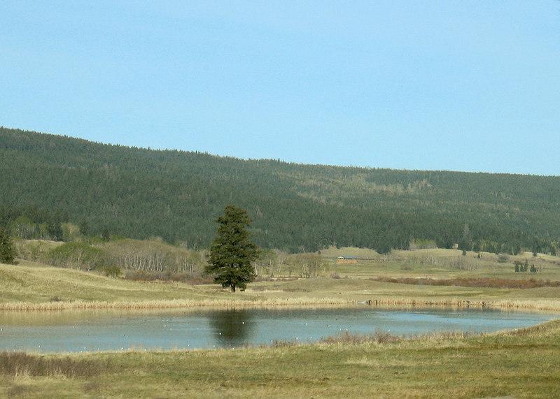 Leaving Lac La Heche