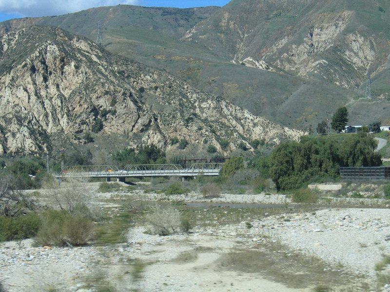 Creek around Fillmore, CA