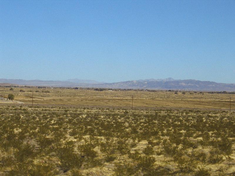 Fields in Newberry Springs, CA