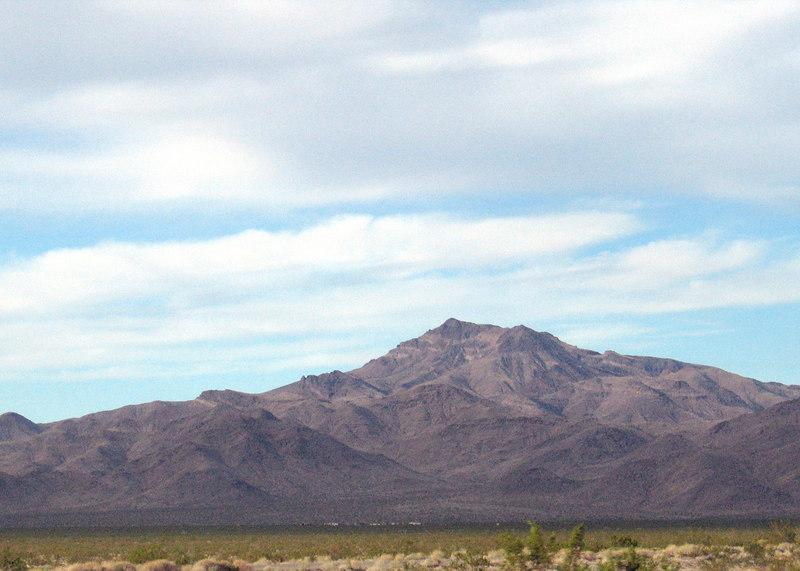 Desert between Needles, CA and Newberry Springs, CA