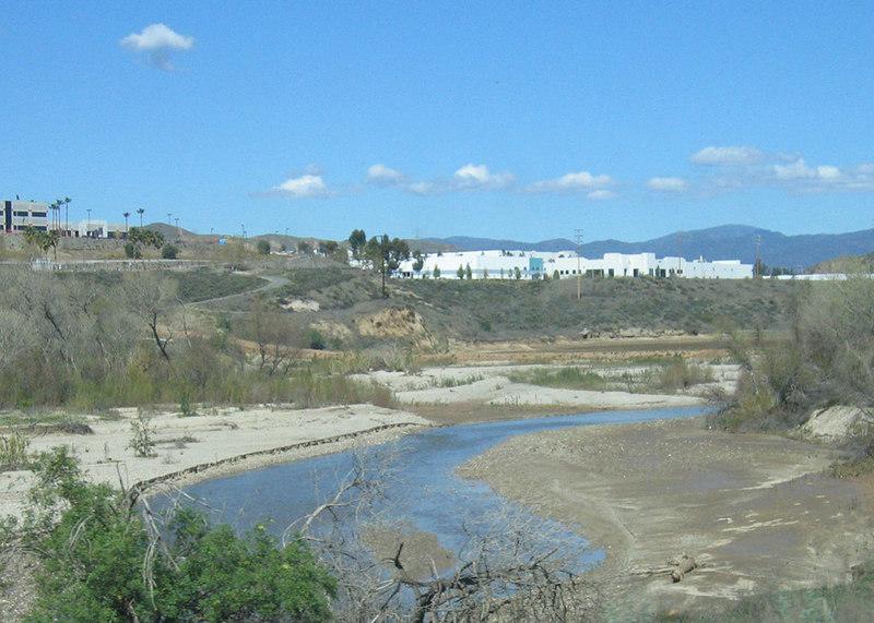 River between Castaic, CA and Ventura, CA