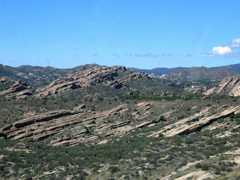 Rock formations coming into Ventura, CA