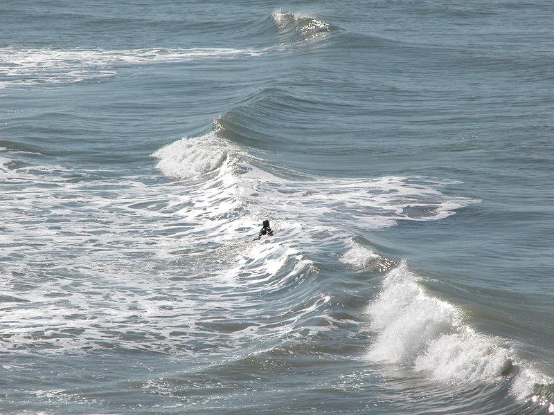 Surfers in Ventura, CA