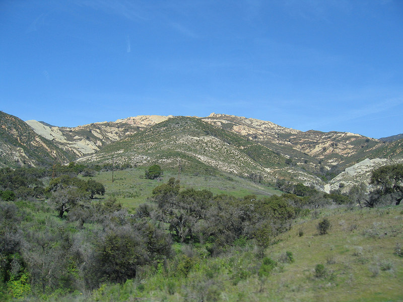 Hills just south of Gaviota