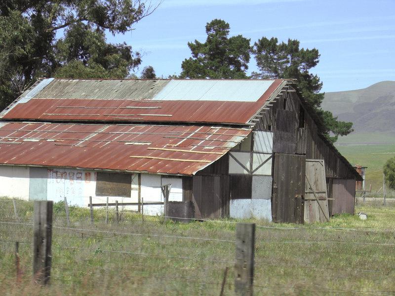 Barn south of Nipomo, CA