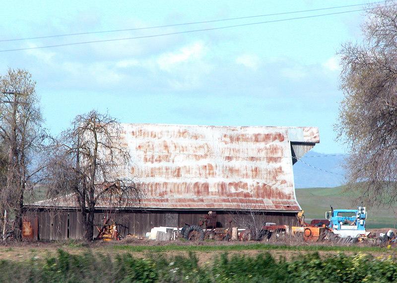 Barn just north of Sacramento, CA