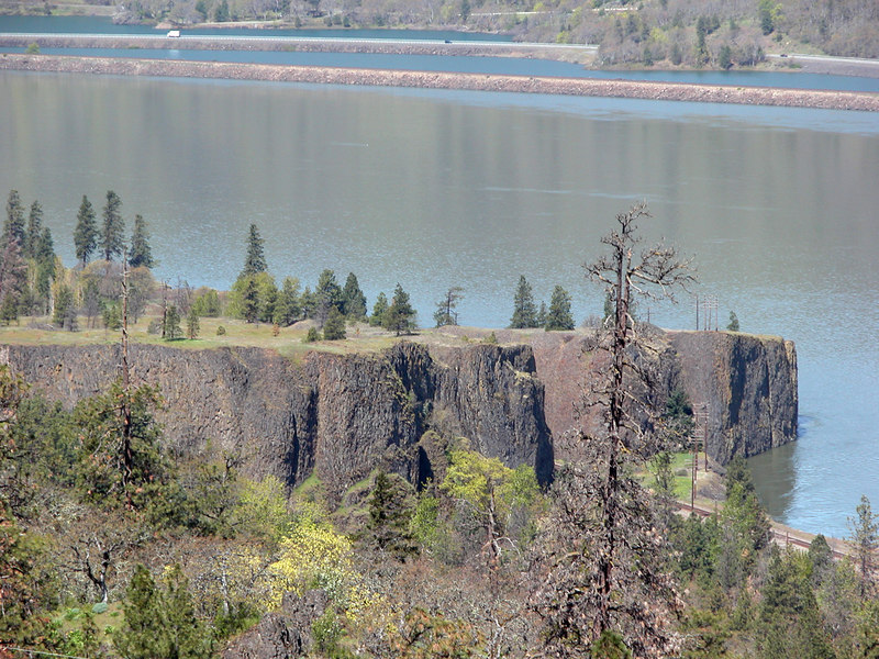 The Columbia River from Memaloose Overlook