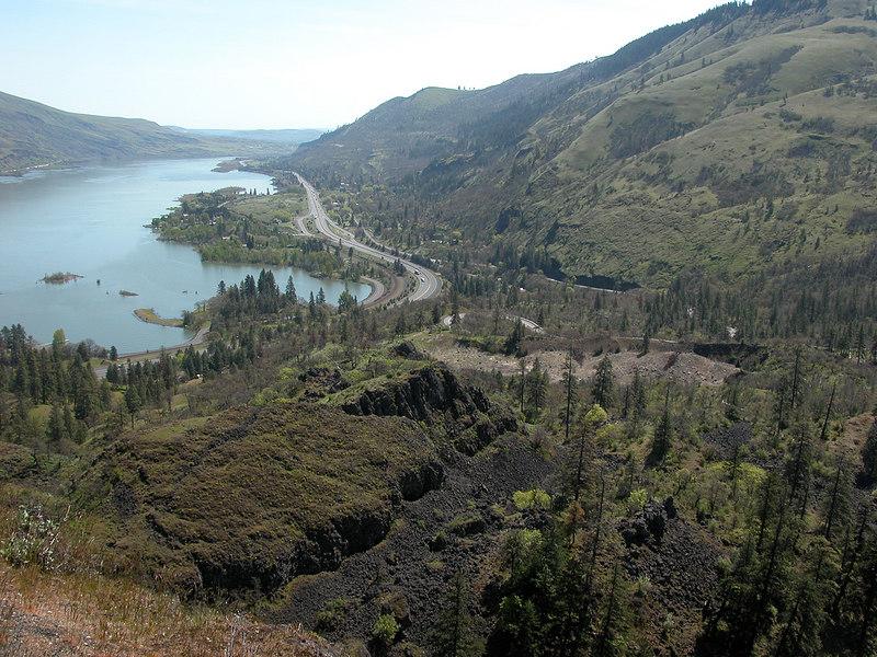 Columbia River from Rowena Crest Overlook