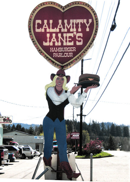 Calamity Jane's was a favorite of ours for hamburgers and milkshakes when we lived in Sandy, OR