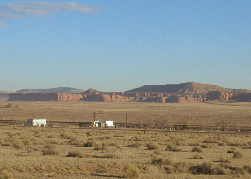 West of Albuquerque