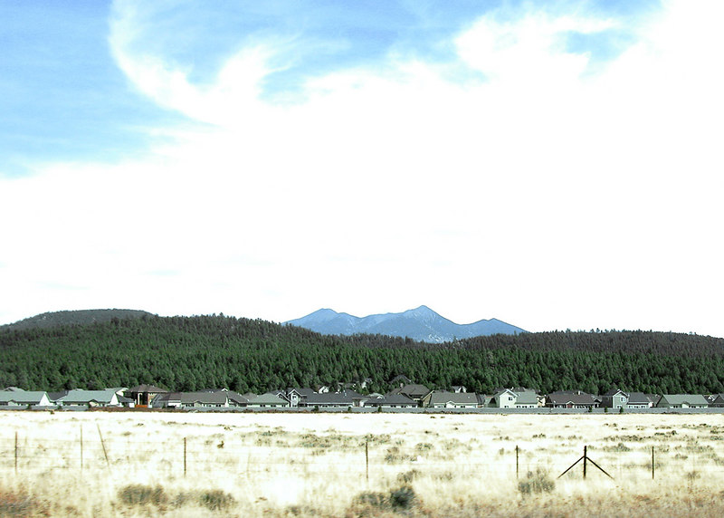 Coming into Flagstaff