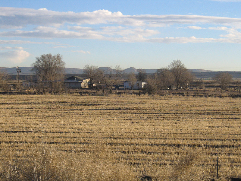 Farm west of Albuquerque