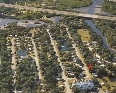 Bay Bayou RV Park, Tampa, FL 1/6/06 to 1/18/06