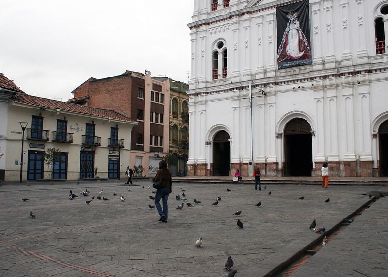 Plaza in front of Iglesia de Santo Domingo