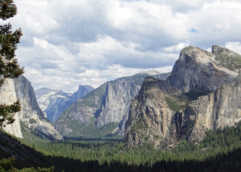 From at the Wawona Tunnel view area