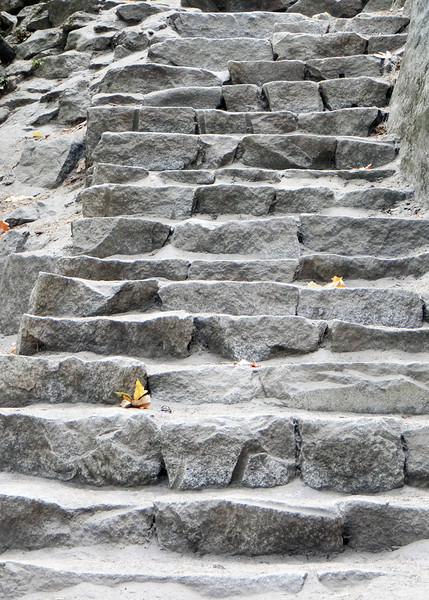 Granite Stairs along the Vernal Falls hike