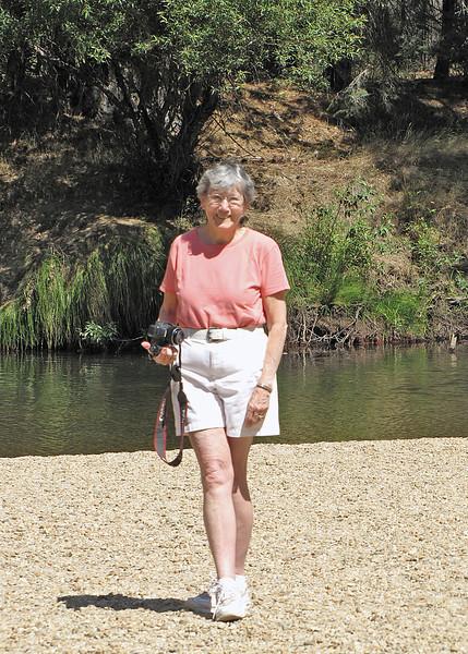Susan at Cathedral Picnic area