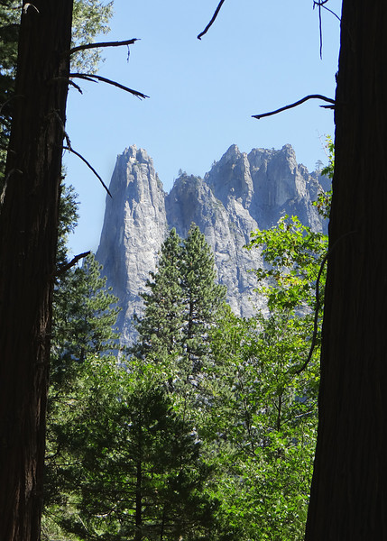 Cathedral Spires from Cathedral Picnic area