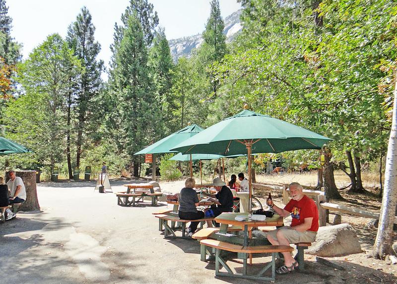 Lunch at Degnan's Deli in Yosemite Village