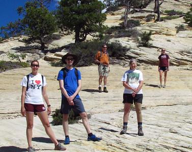 The slickrock of East Northgate Peak, June 13