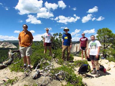 JB, Allie, Pete, Jen & Chris on top, June 13