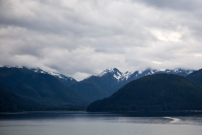 View between Ketchikan and Juneau