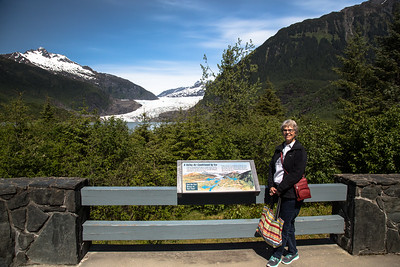 Juneau - Mendenhall Glacier and Sharon