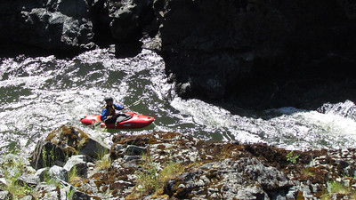 These very small river kayaks are for more advanced paddlers.