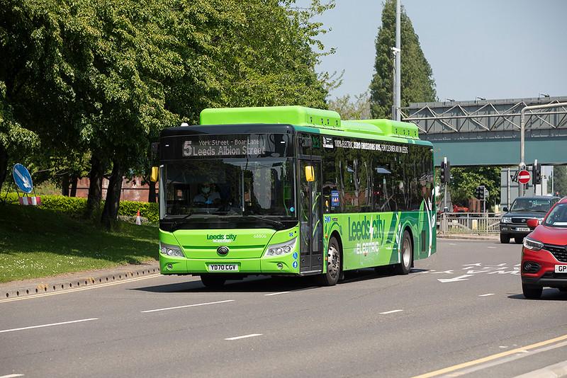 68806 YD70CGV, Leeds 1/6/2021