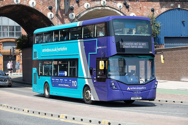 1564 SN69ZWX, Leeds 1/6/2021