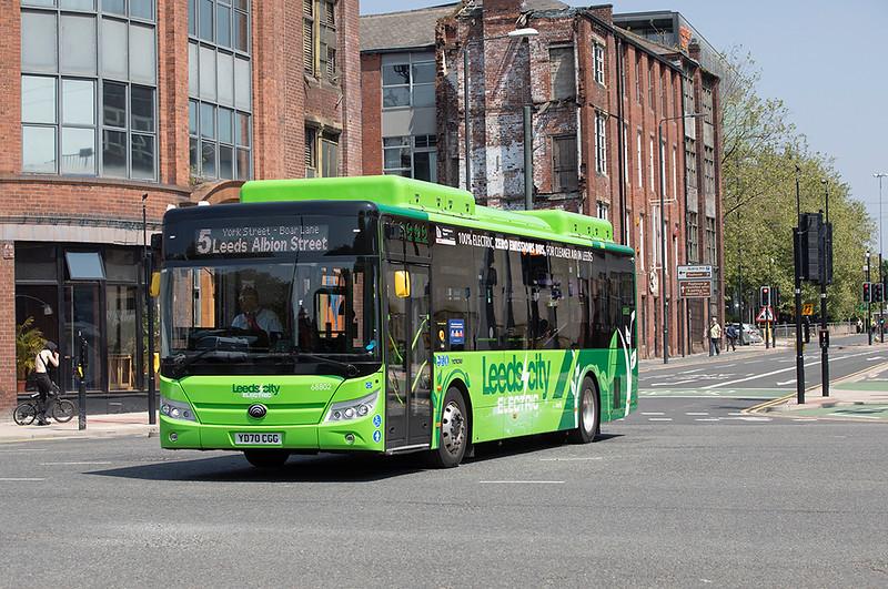 68802 YD70CGG, Leeds 1/6/2021