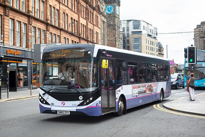 67082 SN65ZFX, Glasgow 2/8/2019