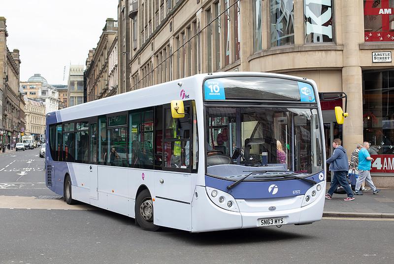 67872 SN63MYS, Glasgow 2/8/2019