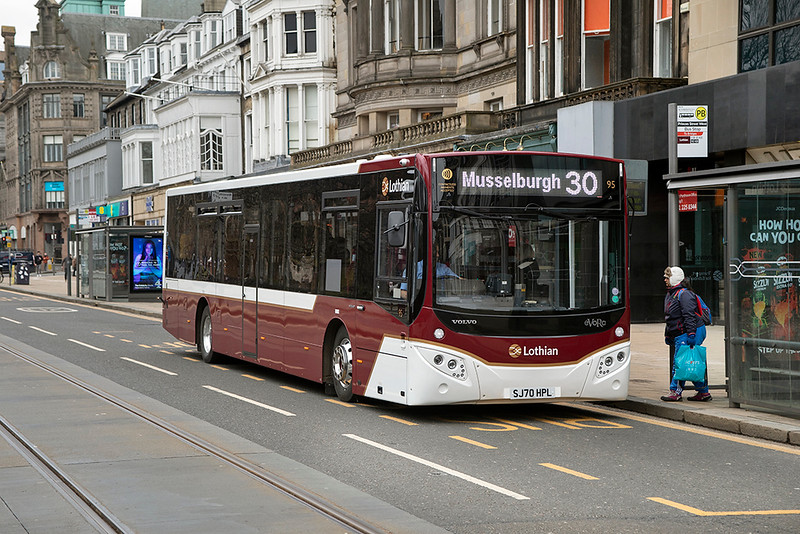 95 SJ70HPL, Edinburgh 5/3/2021